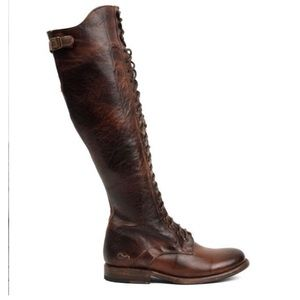 Bed Stu Della Boot Deep Brown Size 8.5